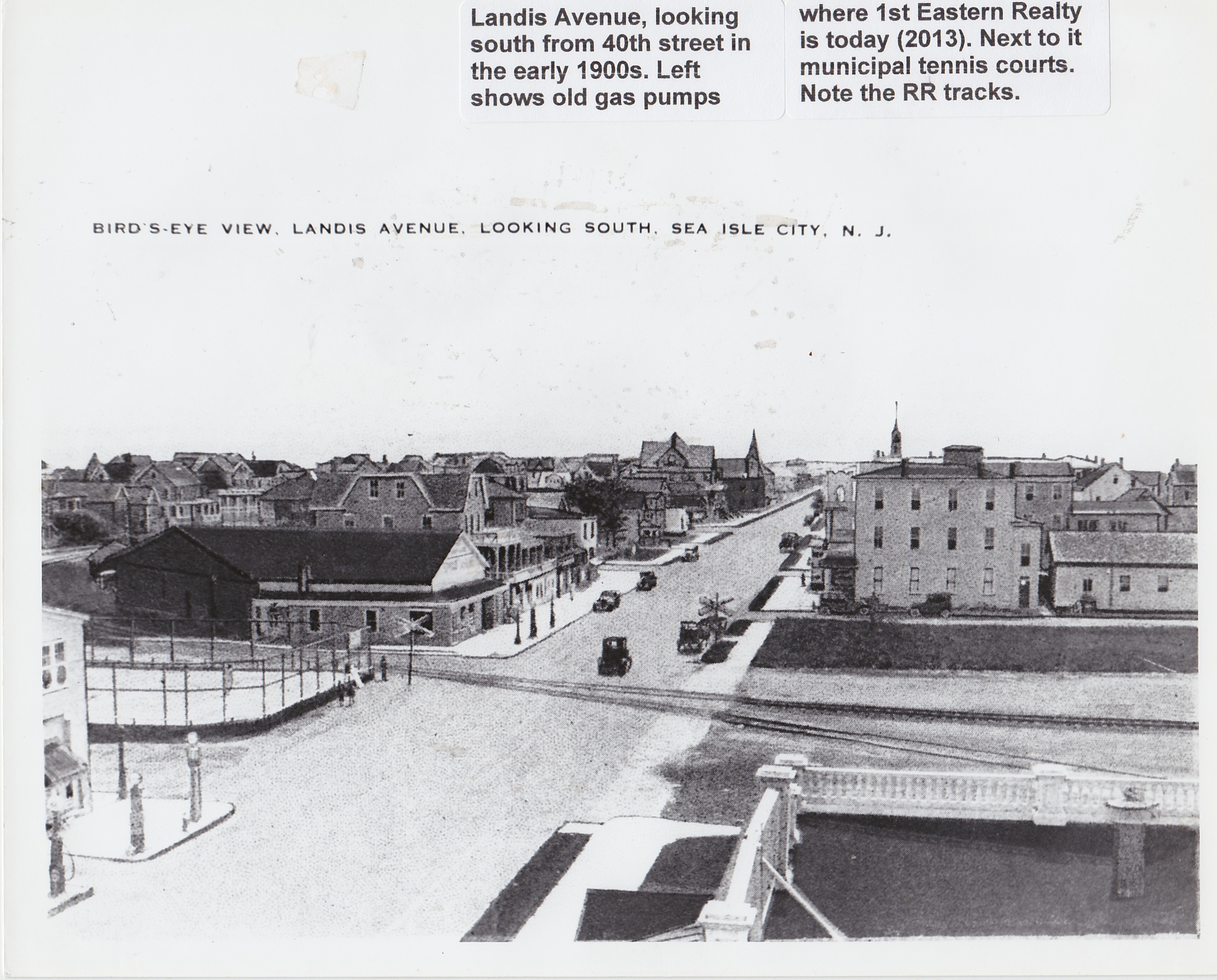 Landis Ave Early 1900s